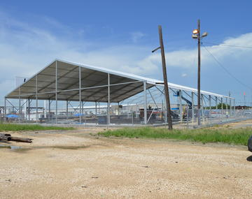 Large Industrial Tents