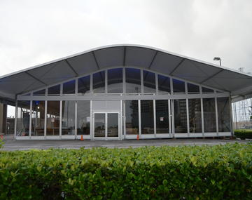 Curved Beam Tents