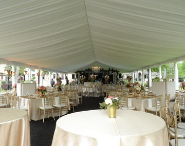 Large Wedding Reception Tents