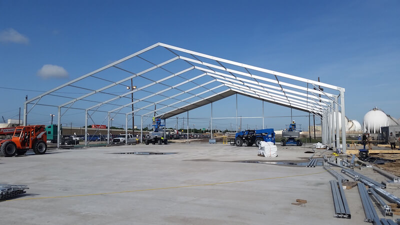 Large Clearspan Structures - Large Commercial Tents