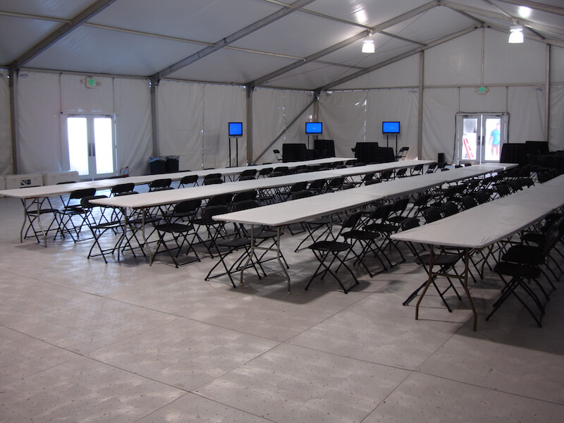 Lunch Tents - Construction & Industrial Lunch Tents