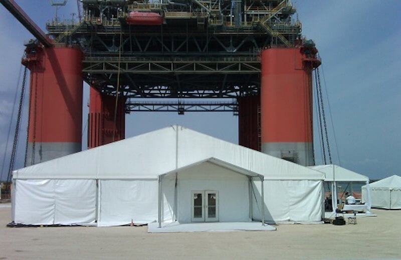 Industrial Fabric Shelters - Fabrication Tents