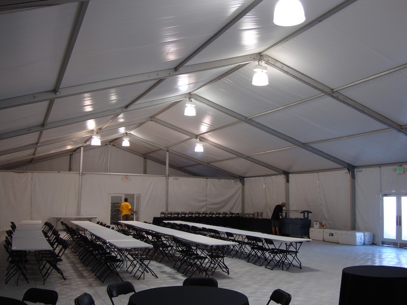 construction lunch tents