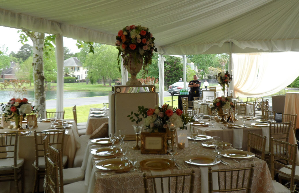 Large Wedding Tents For Rent - Texas Wedding Tent Rentals
