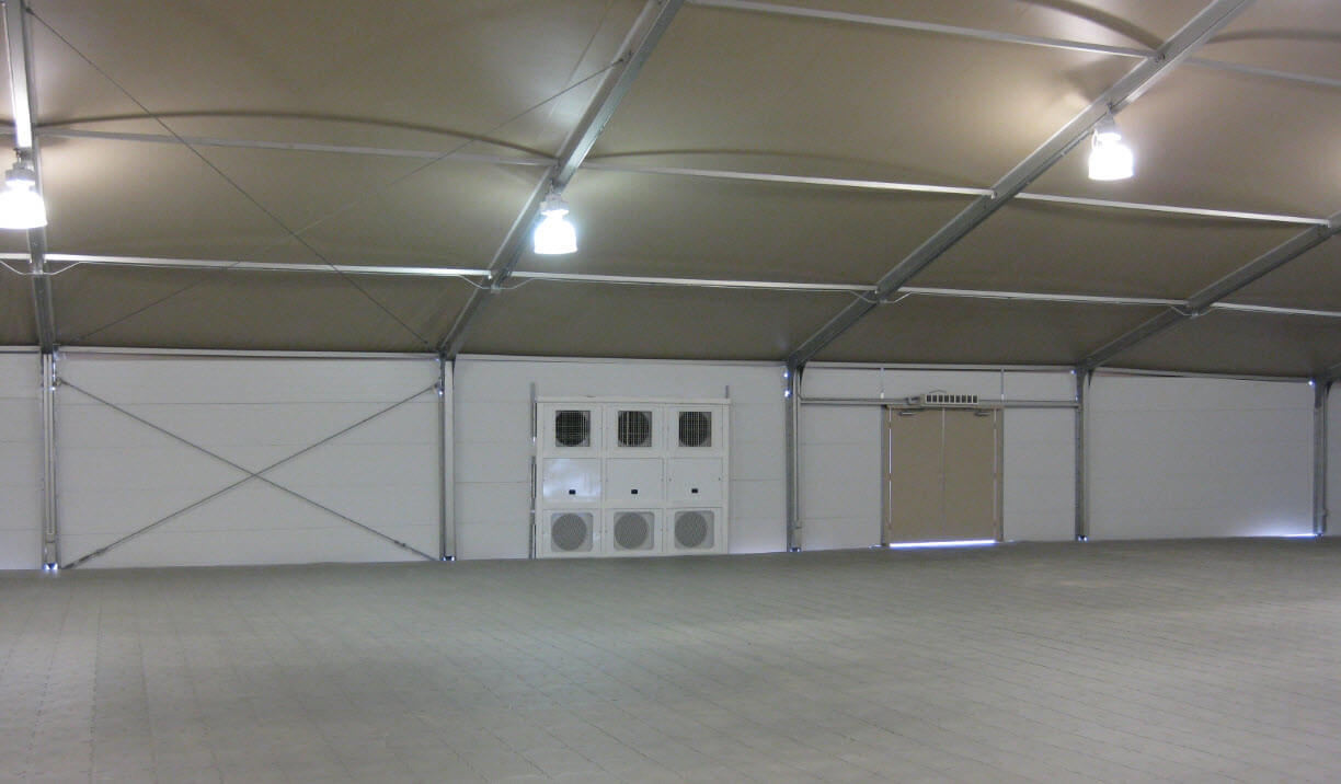 Climate Control Tents For Rent - Temperature Controlled Tents