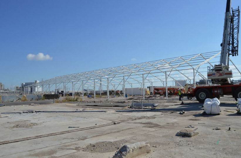 Temporary Petrochemical Structures - Engineered Tents