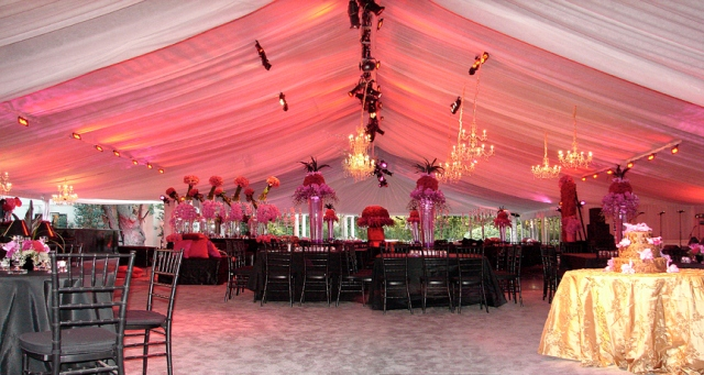 Industrial & Commercial Tent Lighting - Event Lights & Decor