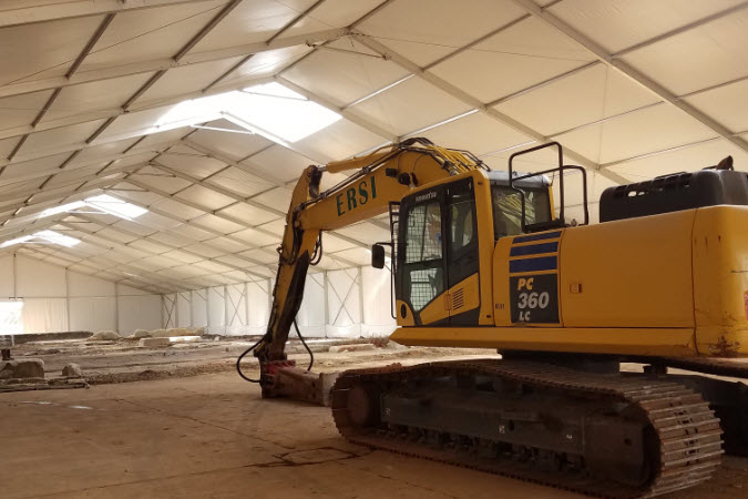 Construction Tents For Sale & Rent - Construction Shelters