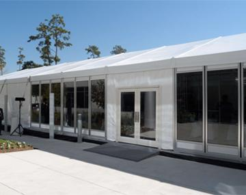 Tent Curtains & Sidewalls - Vinyl & Glass Sidewalls