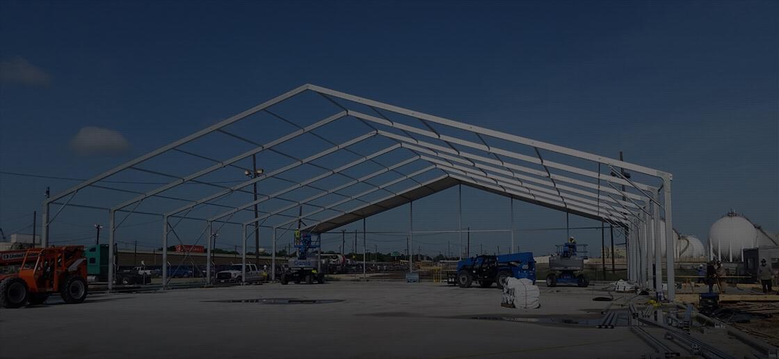 industrial tents for rent